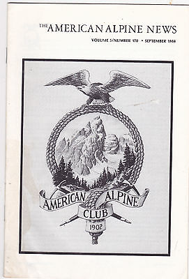 The American Alpine News  29 Volumes From 1982   1990  Mountain Climbing