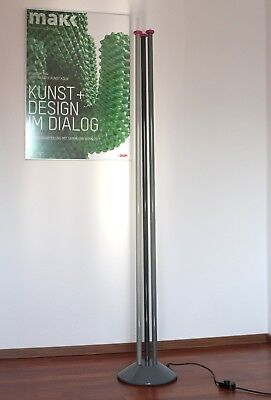 """seltene """"Trilumen"""" Floor Lamp by Hans Von Klier 80's Memphis milano Sottsass Ära"""