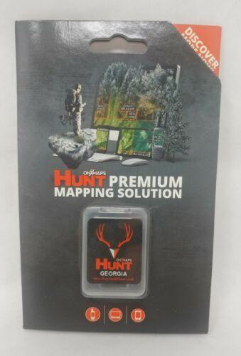 onXmaps HUNT GPS Chip for Garmin Units +1Year Premium Membership, Georgia 208984