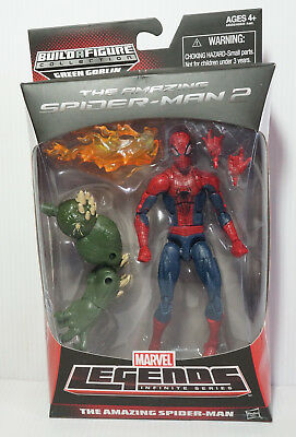 Marvel Legends The Amazing Spider-Man 2 Infinite Series BAF Green Goblin