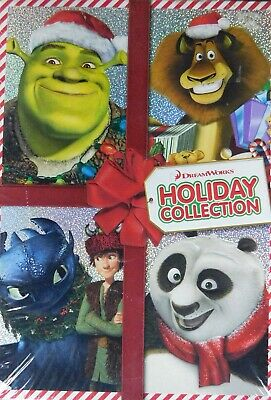 4 DREAMWORKS HOLIDAY Special KUNG FU PANDA HOLIDAY SHREK The HALLS DRAGONS HOLID ()