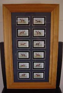 SNIDERS & ABRAHAMS - AUSTRALIAN RACEHORSE CARDS 1906 - FRAMED Cooranbong Lake Macquarie Area Preview