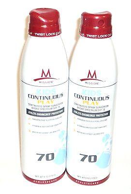 2 L'OREAL Paris Advanced Suncare Quick Dry Sheer Finish Spray SPF 30 Sunscreen
