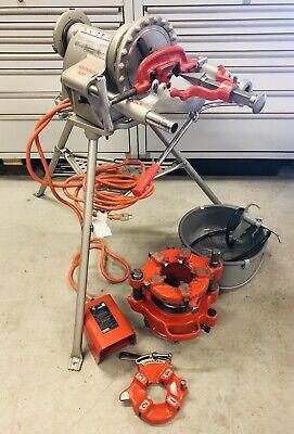 Ridgid 300 T2 And 141 Set Universal Die Head New Oil Bucket Rigid 1224535