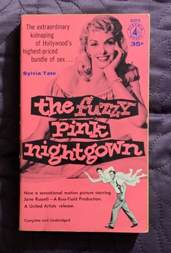 THE FUZZY PINK NIGHTGOWN  SYLVIA TATE  PYRAMID  G275  JANE RUSSELL  1957