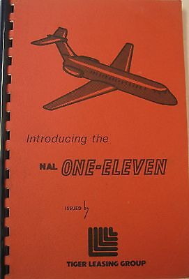 1965 Inroducing The NAL BAC One-Eleven By Tiger Leasing Group