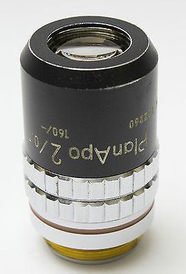 Nikon Plan Apo 2x .1 160mm Cfn Microscope Objective Planapo Rms