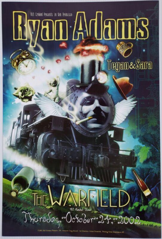 Ryan Adams Concert Poster 2002 BGP-290 Warfield