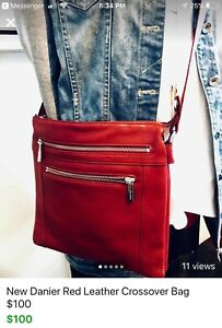 Danier Leather Crossover Bag - New