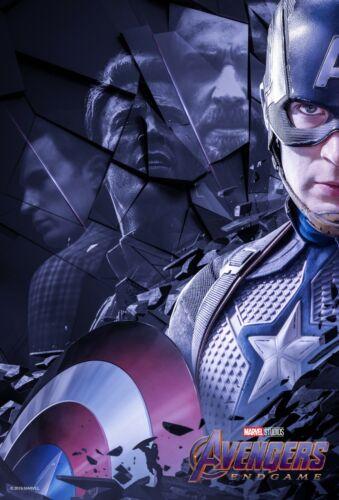 Avengers Endgame movie poster  - 11 x 17 - Captain America (c) Chris Evans