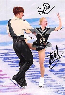 Evgenia TARASOVA / Vladimir MOROZOV - RUS - Eiskunstlauf - Foto signiert (1)