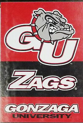 Gonzaga Bulldogs Premium Beidseitig 28x40 Flagge Haus Banner University Gonzaga University Bulldogs