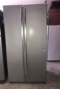 Westinghouse Silver Side by Side Refrigerator 610L (10 Days Warranty)