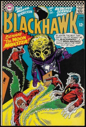BLACKHAWK #221-230 (DC Comics, 1966-1967) - 10 consecutive issues