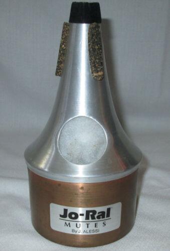 Jo-Ral Spun Aluminum Copper Bottom Bucket Trumpet Mute by J Alessi