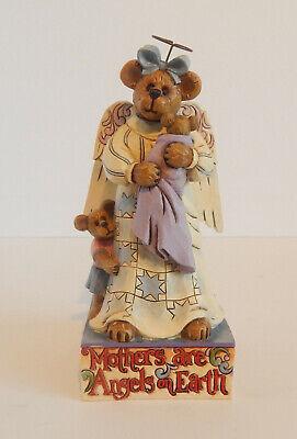 Jim Shore Boyds Bear Mama Angelbeary with Lil Emma and Dori ()
