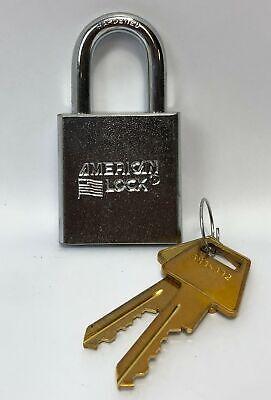 American Lock Padlock Series Solid Steel 2 Keys