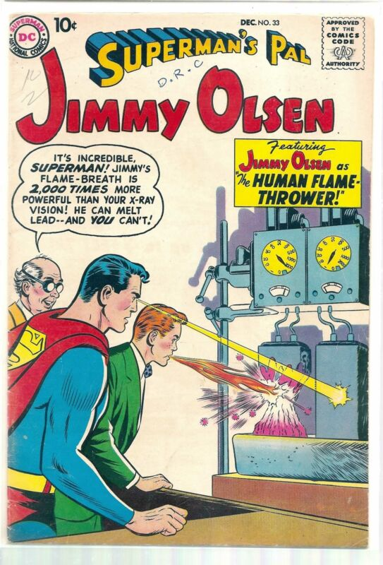 SUPERMANS PAL JIMMY OLSEN #33