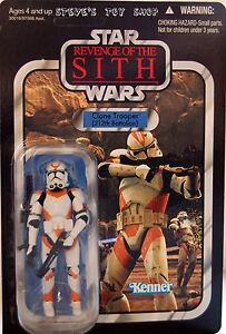 Star Wars Vintage Revenge of the Sith: Clone Trooper (212th Battalion)