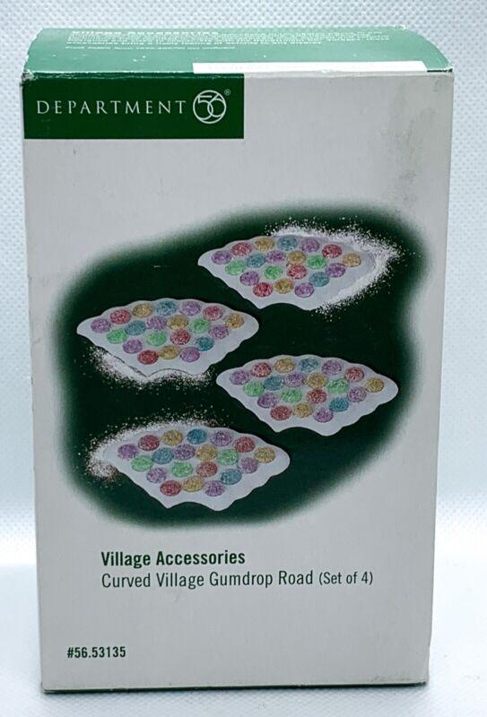 Department Dept 56 Curved Village Gumdrop Road Set Of 4 #56.53135
