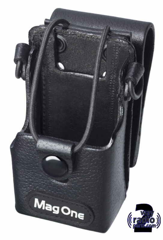 MOTOROLA MAG ONE BPR40 - Leather Holster & Belt Loop PMLN4742A