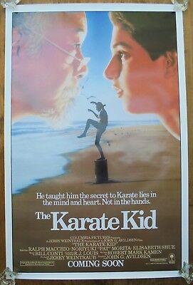 THE KARATE KID (1984) ORIGINAL MOVIE POSTER  -  ROLLED