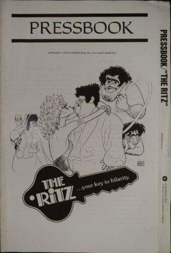 The Ritz Pressbook 1976 Jack Weston, Rita Moreno