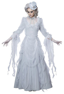 Victorian Ghost Haunting Lady Adult Women - Ghostly Lady Costume