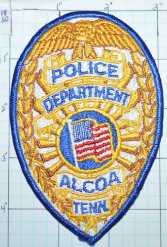 TENNESSEE, ALCOA POLICE DEPT PATCH
