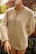 Ll Bean Womens Sweater XL