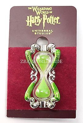 New Universal Studios Wizarding World Of Harry Potter Slughorn Hour Glass Pin