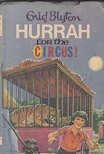 HURRAH FOR THE CIRCUS! Enid Blyton ~ 1st Ed HC 1973 Perth Region Preview