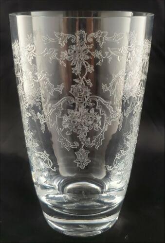 "FOSTORIA / Lenox Crystal NAVARRE 6016 Pattern Highball Glass or Tumbler - 4-7/8"""