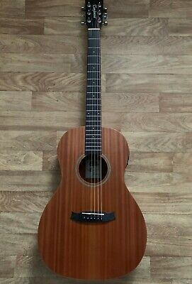 Superb £369 Left hand / Handed All Mahogany Parlour Electro Acoustic Guitar