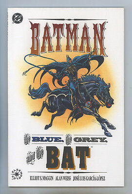 Blue And Grey Batman (Batman the Blue, the Grey, and the Bat (1992) NM+ Weiss, Lopez, Prestige)