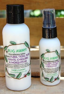 Biodegradable Insect Repellent - BUG AWAY! Safe Natural organic Bug repellent Lotion, no DEET Biodegradable Vegan