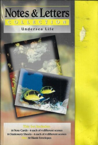 Notes & Letters Collection - Undersea Life [Stationary] New