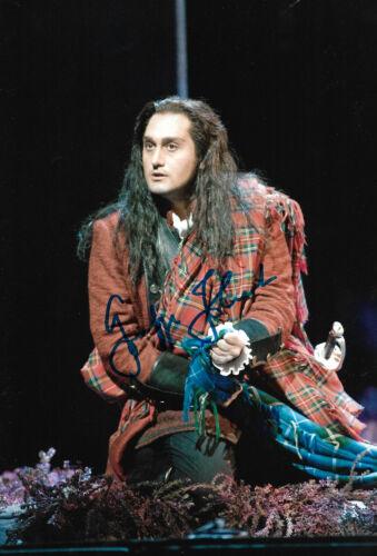 Giuseppe Filianoti Opera signed 8x12 inch photo autograph