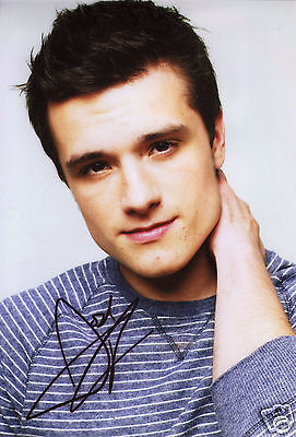 JOSH HUTCHERSON AUTOGRAPH SIGNED PP PHOTO POSTER