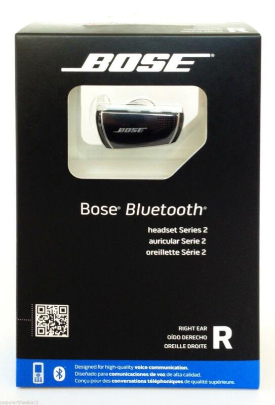 Bose Bluetooth Headset Series 2 Right Ear Ebay