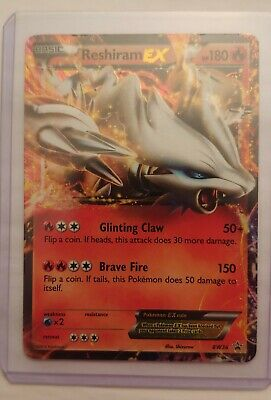 2012 Pokemon Black and White Promo Holo Reshiram- LP