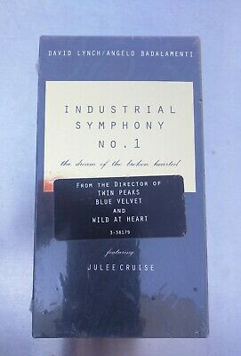 Industrial Symphony No. 1: The Dream of the Broken Hearted VHS - David Lynch