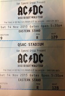 AC⚡️DC tickets!!! Mudgeeraba Gold Coast South Preview