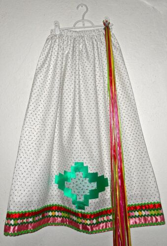 Native American Ribbon Skirt, Powwow Regalia, ( attached underskirt)