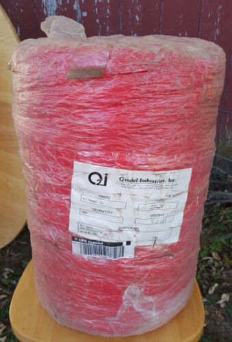 """NEW Firewood Bundle/Product Netting Red 27""""-28"""" by 2000"""