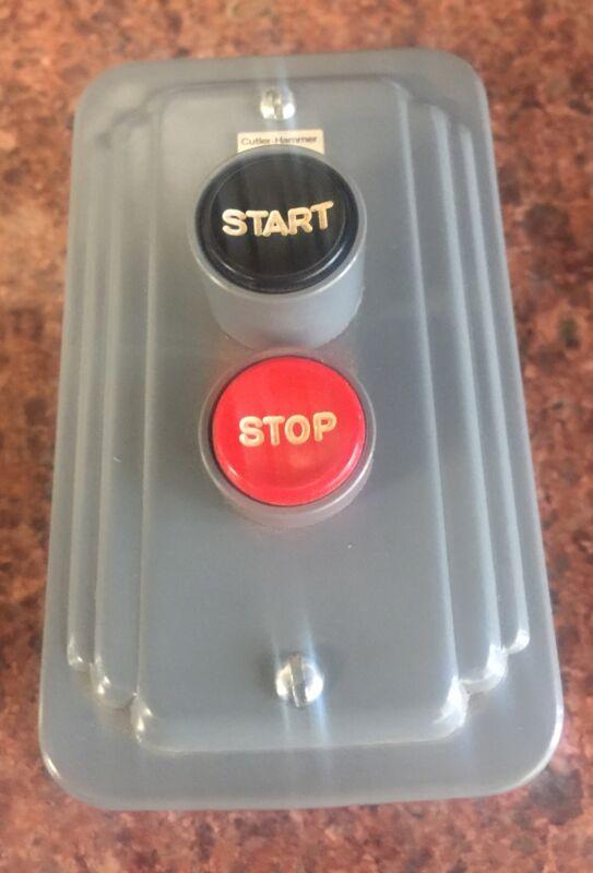 Cutler-Hammer 9115H89 Manual Starter, Stop-Start Push Button Switch