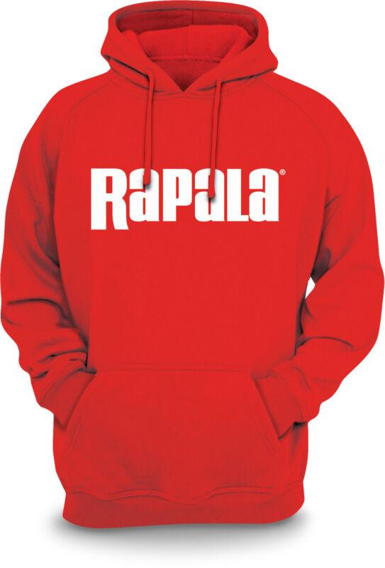 Rapala Hooded Sweatshirt Fishing Logo Full Fleece Interior Hoodie