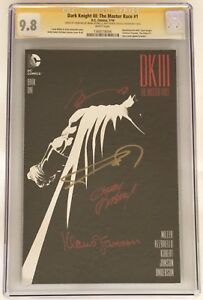 Batman Dark Knight III Master Race CGG 9.8 signature series