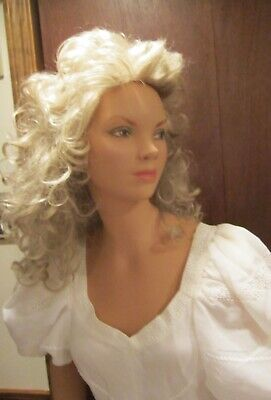 Vintage 5 Ft. 4 Tall Female Teen Store Mannequin - Composite Wood - Gc