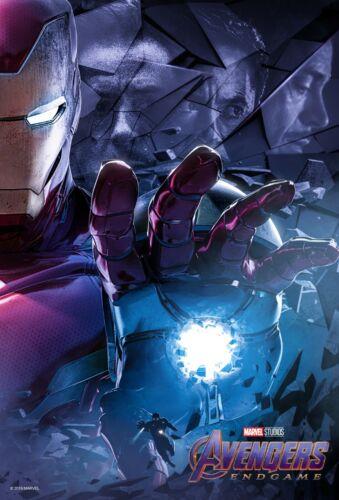 Avengers Endgame movie poster  - 11 x 17 - Iron Man (c) Robert Downey Jr